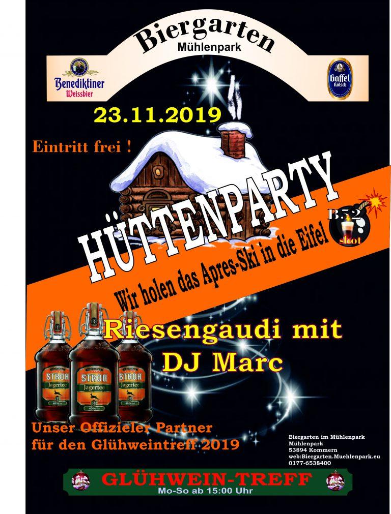 Hüttenparty 2019